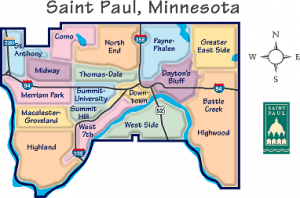 by the interfaith group ISAIAH, shows three of St. Paul's low income ...