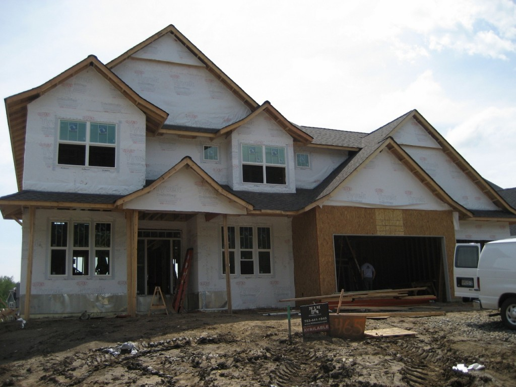 New home in plymouth update on build and look at that for How much to build a house in mn