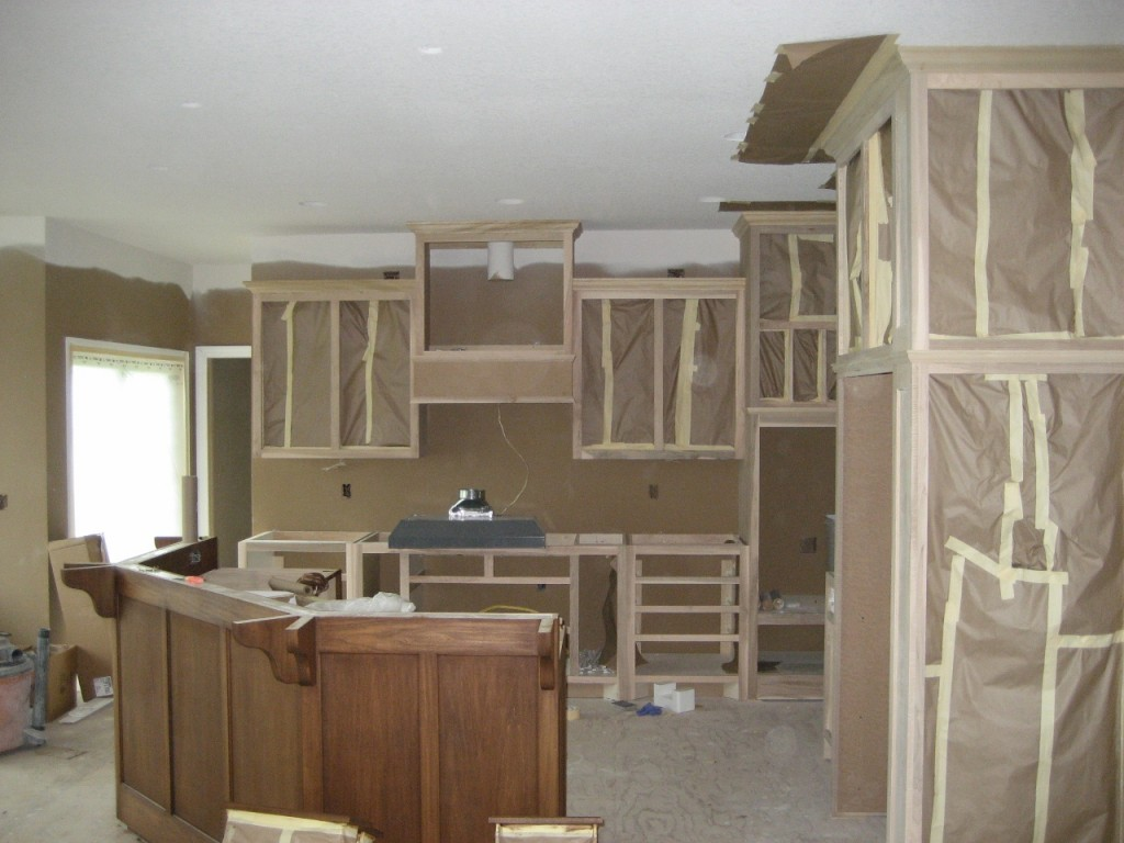 Wonderful Unfinished Cabinets Of New Home In Rogers Minnesota, Luxury New Home In  Rogers Minnesota,
