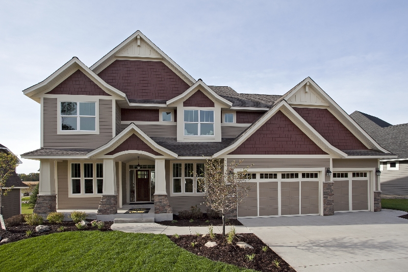 Parade of homes model home in plymouth sold last viewing for Beautiful model house