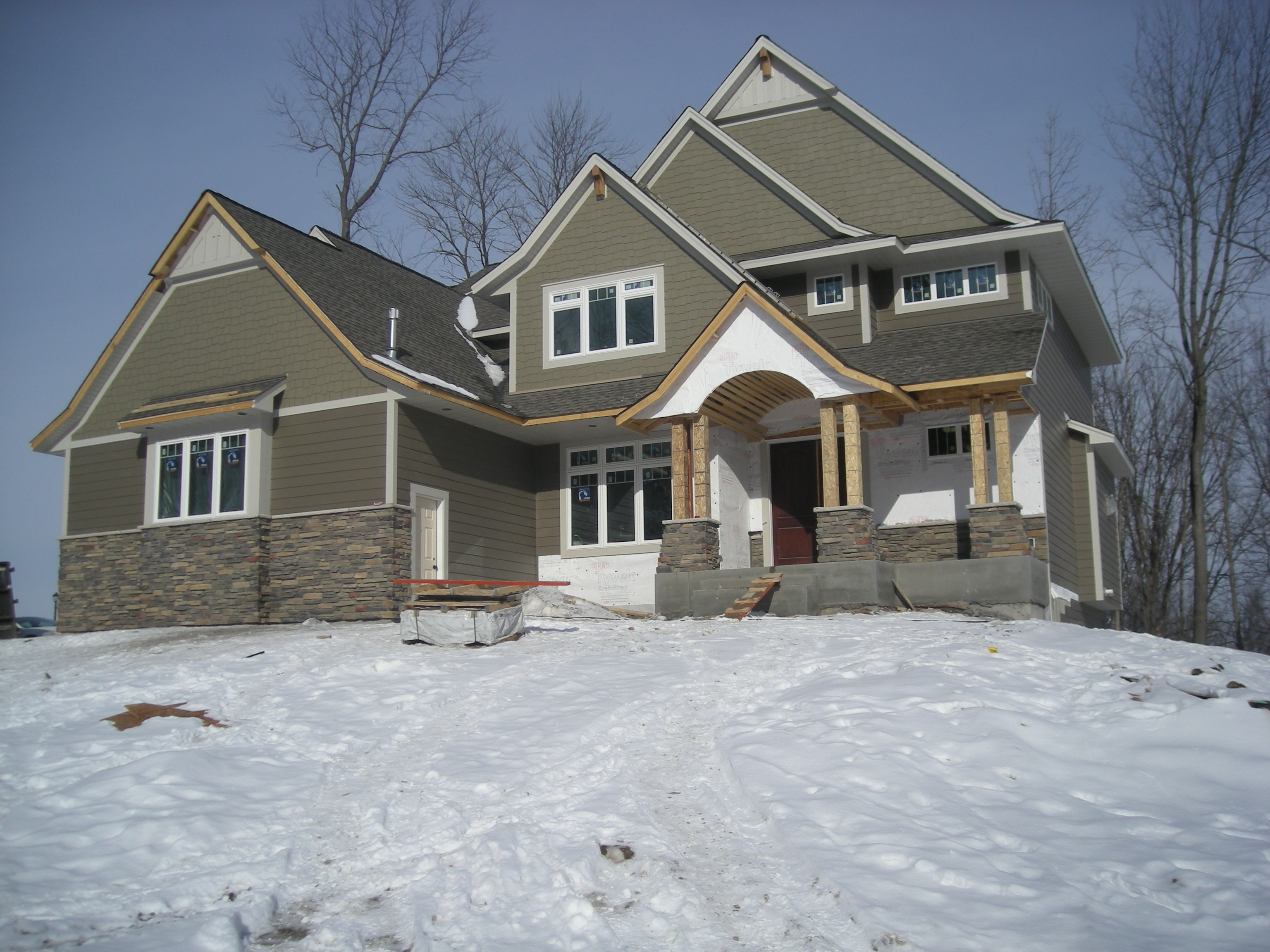 Update on construction of new home in taylor creek of for Building a house in mn