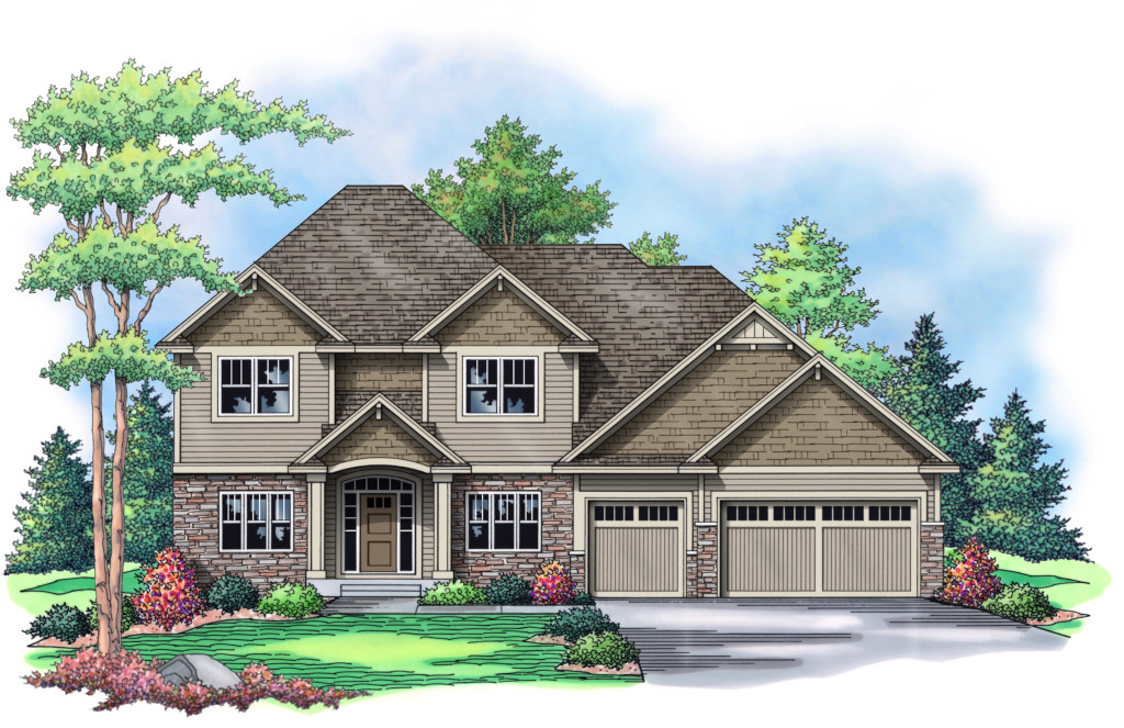 New Fall Parade Of Homes Model Home In Cedarcrest Of Maple