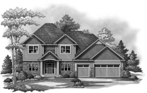 Parade of Homes rendering NIH Homes