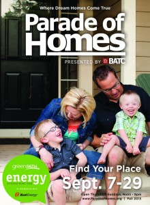 Parade of Homes 2013 cover