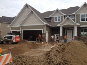 New start by NIH Homes in Spring Meadow of Plymouth MN