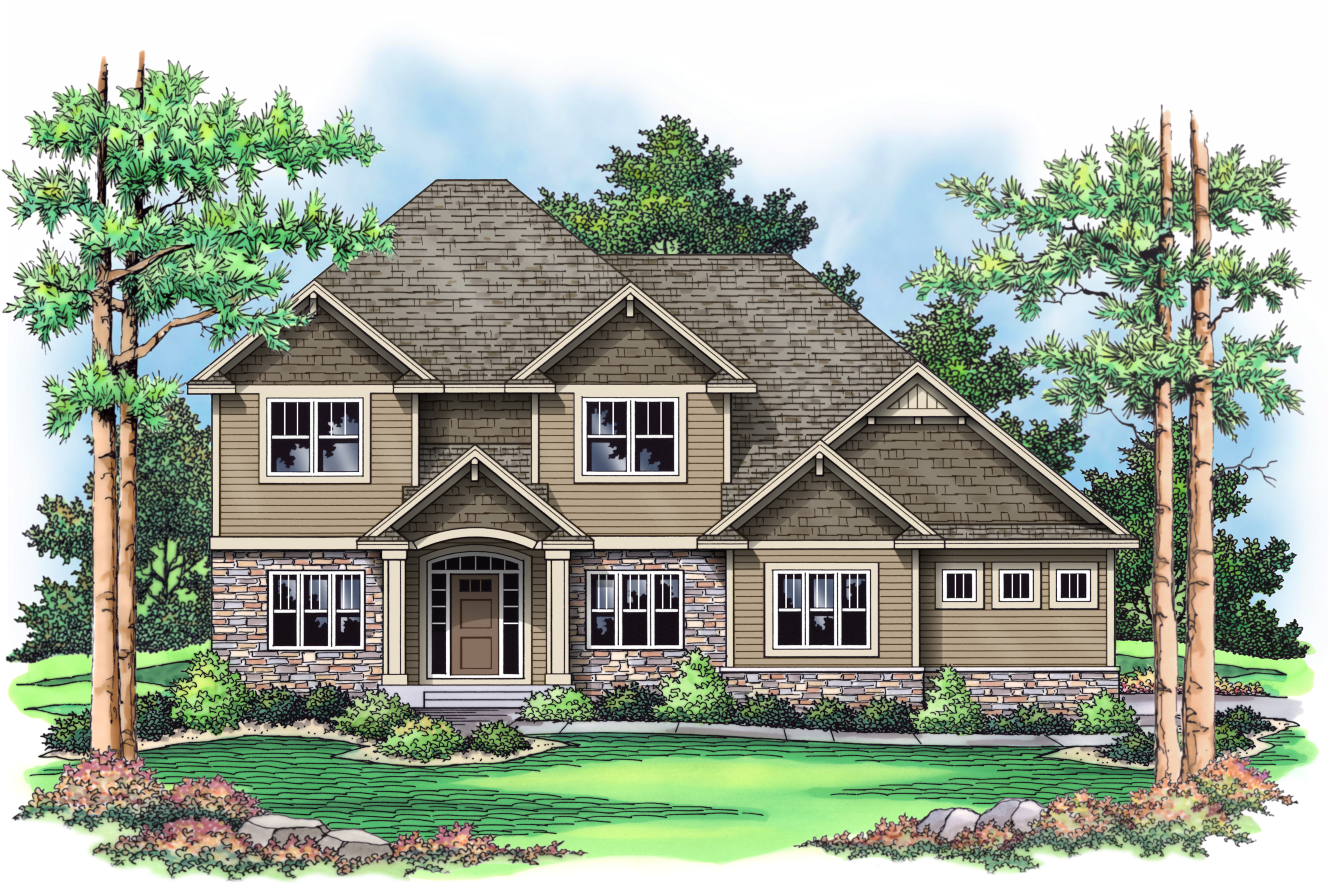 New home for sale in terra vista of plymouth mn under for Modern homes for sale mn