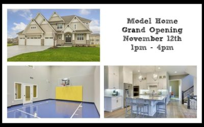 Model Home Grand Opening in Plymouth