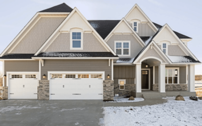 Custom Home in Maple Creek Meadows of Plymouth